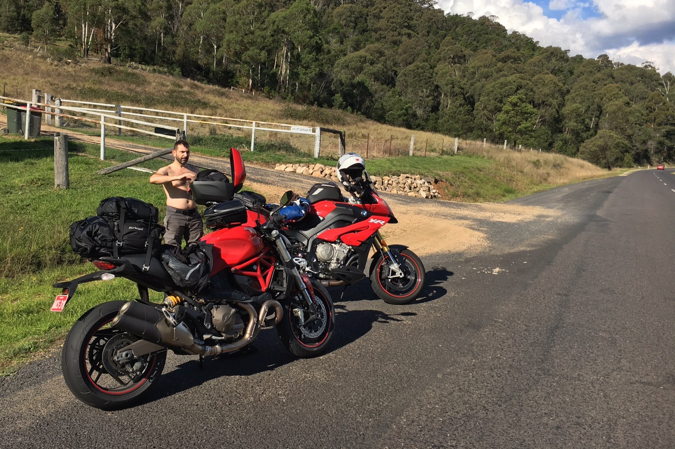 Heading South – Day 3 – Bombala to Narooma (but via some outstanding